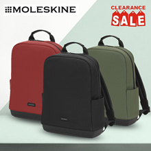 Moleskine Authentic Backpack (Black/Red/Green)