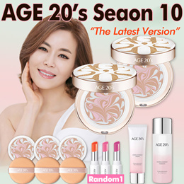 [Age 20s] ★Essence Cover Pact SPECIAL SET★ Season 10= 2 Cases + 4 Refills + 4 Puffs + Gifts