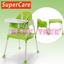 Singapore Brand★SuperCare★ 2 in 1 Baby High Chair set★ High Chair and Kids Table★