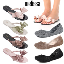 [Melissa]MAKE $52 / USE Qoo10 $12 coupon  ♥2018 NEW FlipFlop Slipper Ballet Flat 100% AUTHENTIC Shipped from USA / jelly shoes / melissa