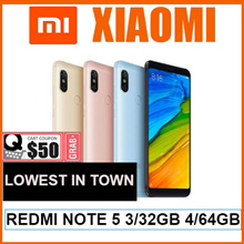 BRAND NEW REDMI NOTE 5/5.99 INCHES /4000 mAh BATTERY /DUAL REAR CAMERA /EXPORT SET