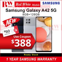Samsung A42 5G- Samsung 1 Year Samsung Warranty