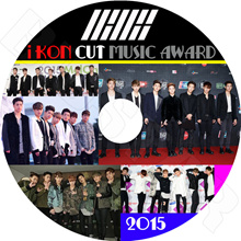 【K-POP DVD】 ☆ ★ iKON CUT 2015 MUSIC AWARD ☆ GAON / MAMA / GDA / SMA / SBS / MELON 【Icon Bobby Bei Jing Fan Jun Fen Yoon Hyun Ji
