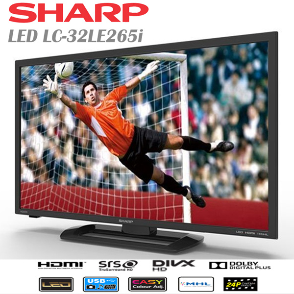 SHARP LED LC-32LE265i Free Ongkir Khusus Area JADETABEK Deals for only Rp3.499.000 instead of Rp3.499.000