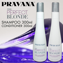 **NEW** Pravana The Perfect Blonde Purple Toning Shampoo / Conditioner 300ml - Pure Light Brightenin