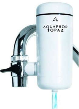 Aquaphor Topaz/ #1 in EUROPE-RUSSIA/ EASY INSTALLATION/ DIY/ FAUCET FILTER/ Pure Water Filtration/ 98% Effective Filtration