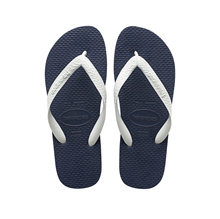 Havaianas Color Mix 0575 (Navy Blue/White) [Unisex]