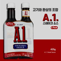 [A.1 Steak Sauce (425g 2 pack)] A.1 스테이크 소스 (425g 2팩)