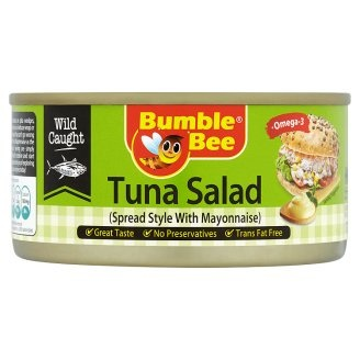 Bumble Bee Tuna Salad Spread Style With Mayonnaise 175g [Halal  Certification]