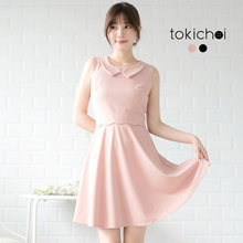 TOKICHOI - Graceful Sleeveless Mini Dress-180787