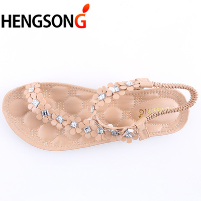 98c1e3bc9c20 authentic HENGSONG 2018 Women Sandals Summer Style Bling Bowtie Fashion  Peep Toe Jelly Shoes Sandal
