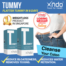 [TWIN PACK] Xndo Tummy - Flatter Looking Tummy IN 8 Days