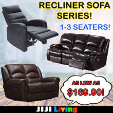 ★SOFA FOR CUSTOMIZATION★ 1 to 3 Seater! ★Recliner Chair ★Designer/Minimalistic ★Fabric/Leather