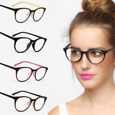 3d5d3e239bac Vintage Cat Eye Decoration Eyewear Brand Designer Women Luxury Glasses  Frame Clear Lens Eyeglasses F