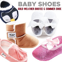 [ORTE] Baby Toddler Girls Boys Prewalkers Shoes Socks★Winter Summer Shoes★Best Quality★Free Shipping