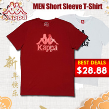 [New Arrival] Kappa CNY collection [Limited Edition] Freebie | Colours available | 100% Cotton | Official Store