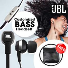 Original JBL Blackberry Customized Bass Headset (NO BOX) - Free Earphone Pouch