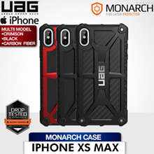 UAG iPhone Xs Max 6.5 Monarch Case (Crimson/Black/Carbon Fiber) 1 Year Local Warranty