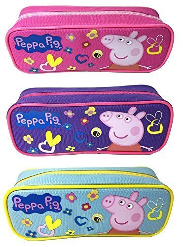 Star Peppa Pig Pencil Case Pouch Set Of 3