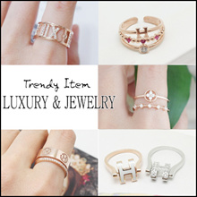💍 Laurenco 💍JULY UPDATE / Trendy Korean Ring - Luxury and unique Ring / Earrings