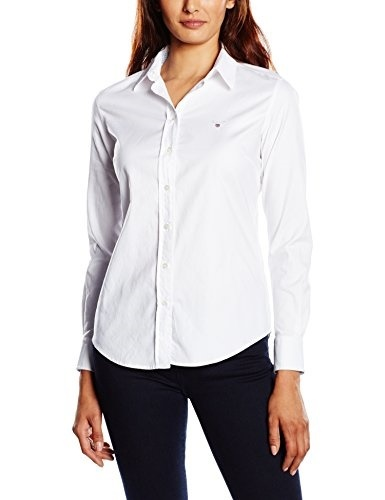 [direct from Germany]GANT Damen Regular Fit Bluse STRETCH OXFORD SOLID