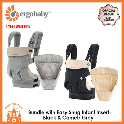 74a59bf55c6 Ergobaby Bundle of Joy with Easy Snug Infant Insert (2 Colors Available)