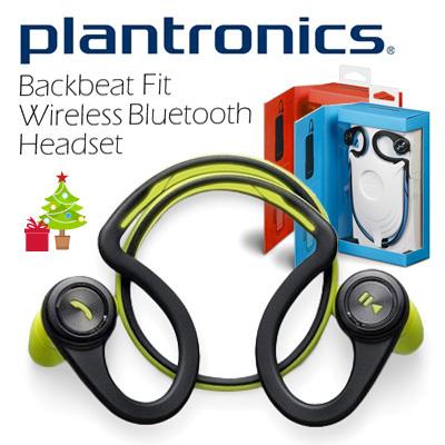 ORIGINAL Plantronics Backbeat Fit Wireless Bluetooth Headset- NEW Black!