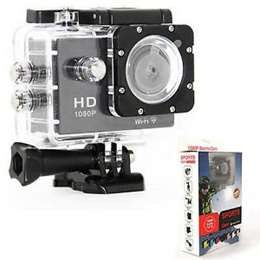 Sports Camera 1080P Full HD 12MP 170 Degree Wireless Diving Mini WiFi Waterproof DV Cam Camcorder Action Video Recorder W8 As Gopro Style SJ4000 Style