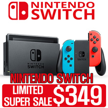 [MAKE $349][SUPER SALE WEEKEND!] Nintendo Switch Console Super Bundle