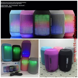 Wireless Bluetooth Mini Speaker MY500BT subwoofer HIFI speaker with colorful LED light Support USB T