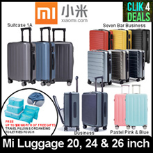 Xiaomi Mi Luggage / Travel Suitcase / 20 / 24 / 26 inch / FREE Travel Pillow and Toiletries Pouch