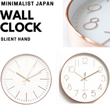 [FREE QXPRESS] Minimalist Modern Wall Clock ( Silent Hand Quartz Movement ) - local warranty