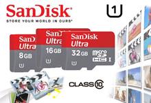 MICRO SD SANDISK ULTRA 16 GB ORI SPED 48 MB/S