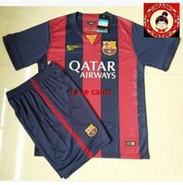 Barcelona football clothes men suit new season Barcelona Barcelona jersey jersey jersey can be customized jersey