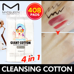 [MACQUEEN NEWYORK] GIANT CLEANSING COTTON 408