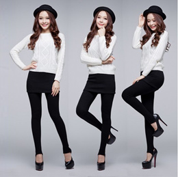 [No Option Price] 2 in 1 Fashion Bodycon Skirt Legging ** Local Seller**