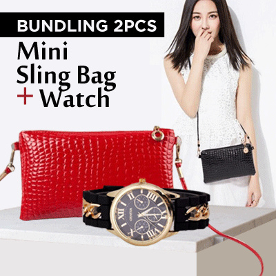 Pay For Bag Get Free Women Watch - Welcome 2018