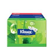KLEENEX NATURAL FACE TISSUES SOFT PACK 4X50S