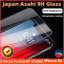 iPhone Xs / Xs Max / XR Japan Asahi Grade 3D 9H Tempered Glass Screen Protector Fast Delivery