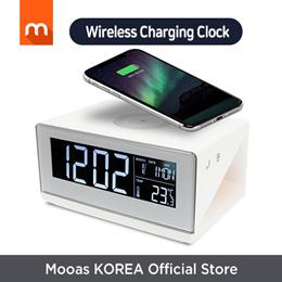 Wireless Charging Moodlight Desk Clock MC-W2 / wireless charging / desk clock / interior