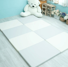 Caraz Baby 4 Stages Folder Mat Baby Playmat Safety Mat  4cm Thickness 2000*700*40mm 1+1 Total 2PCS