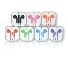 Colorful Earphone/Handsfree with Volume and Mic For Android/iPhone