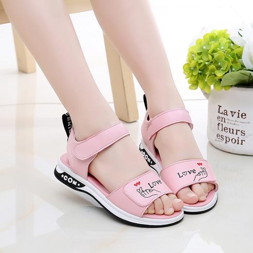 Small Children Sandals Leather Girls