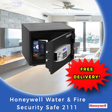 【Honeywell】Water and Fire Resistant Security Safe 2111 (31kg) 35.5 x 39.8 x 31.7cm