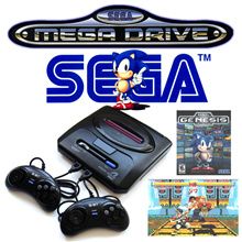 USE QOO10 COUPON 🎮 SEGA GENESIS MEGADRIVE 2 3 RETRO GAME CONSOLE 1980S RELIVE CHILDHOOD