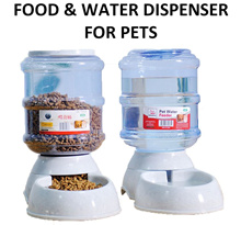 Food dispenser Water dispenser automatic Pets 3.5L 1L Food Feeder Water Feeder Dog Cat
