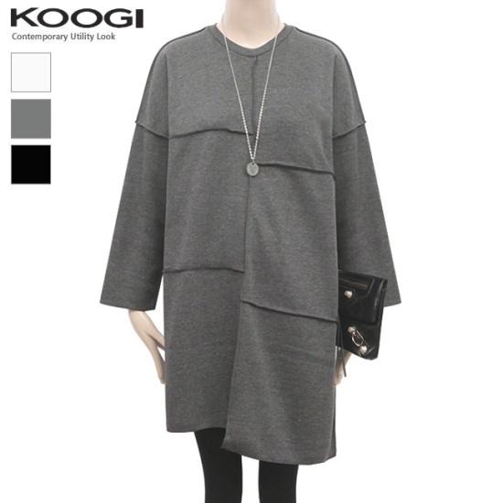 釘宮ジョルゲオンバルの起毛ワンピースKK3OP3180A 綿ワンピース/ 韓国ファッション