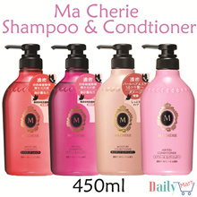 Ma Cherie Shiseido Shampoo and Conditioner. Moisture and Air Feel. 450ml