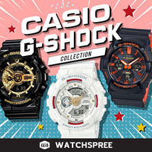 [APPLY SHOP COUPON] *CASIO GENUINE* CASIO G-SHOCK COLLECTION! Free Shipping and 1 Year Warranty.