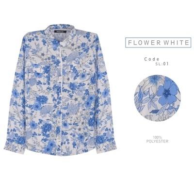 ON FLOWER WHITE